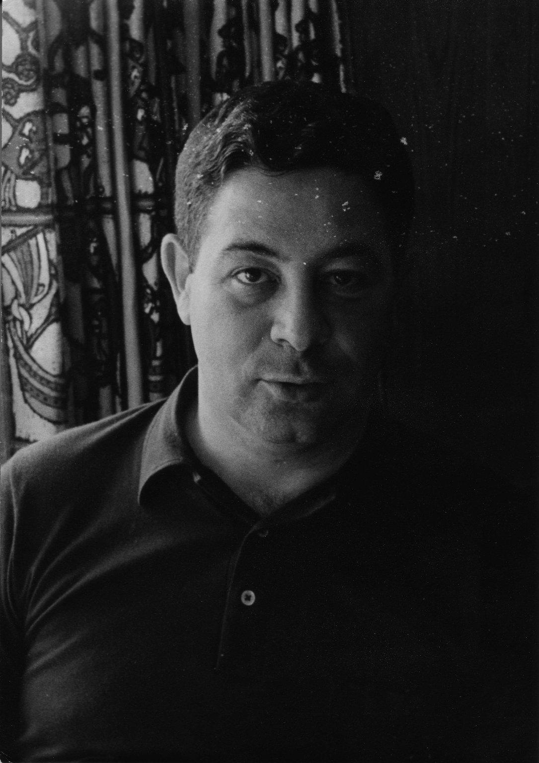 Candid photo of Rabbi Richard L. Rubenstein in Winnipeg, Canada, ca. 1966.