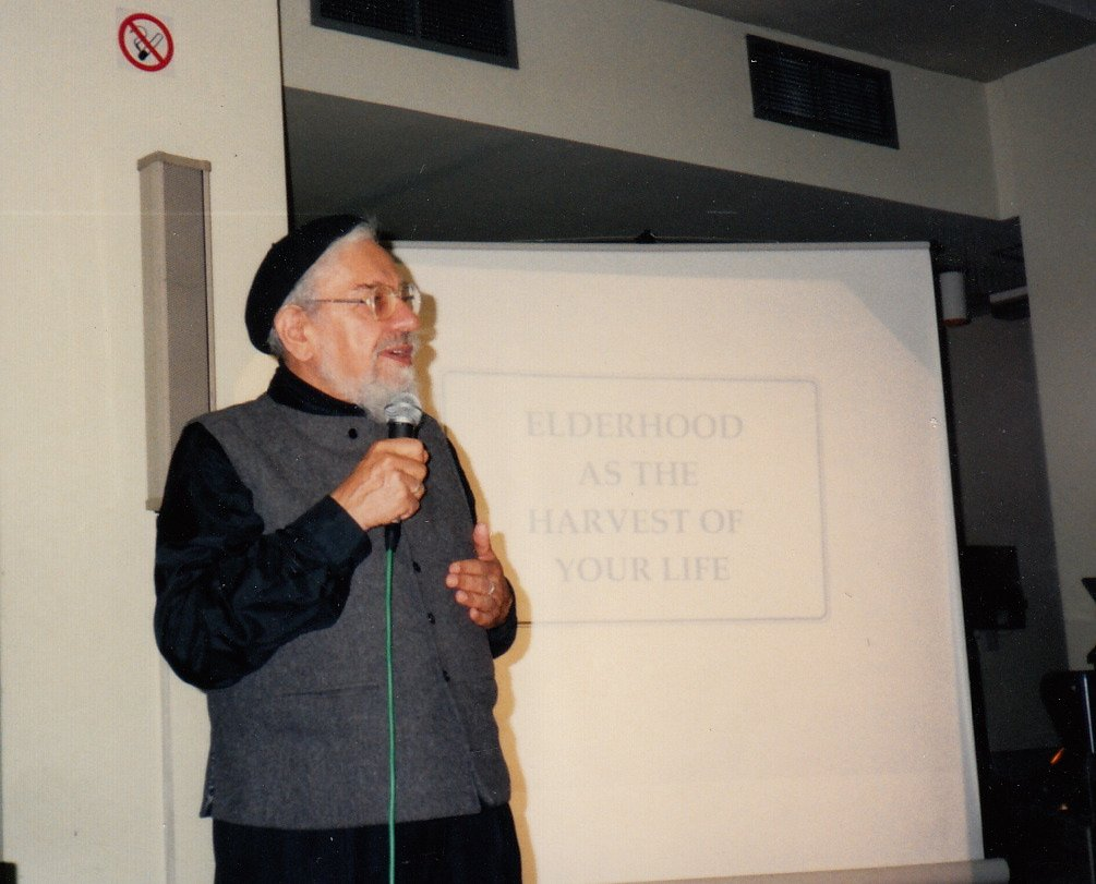 Rabbi Zalman Schachter-Shalomi teaching on spiritual eldering, ca. 1990s.