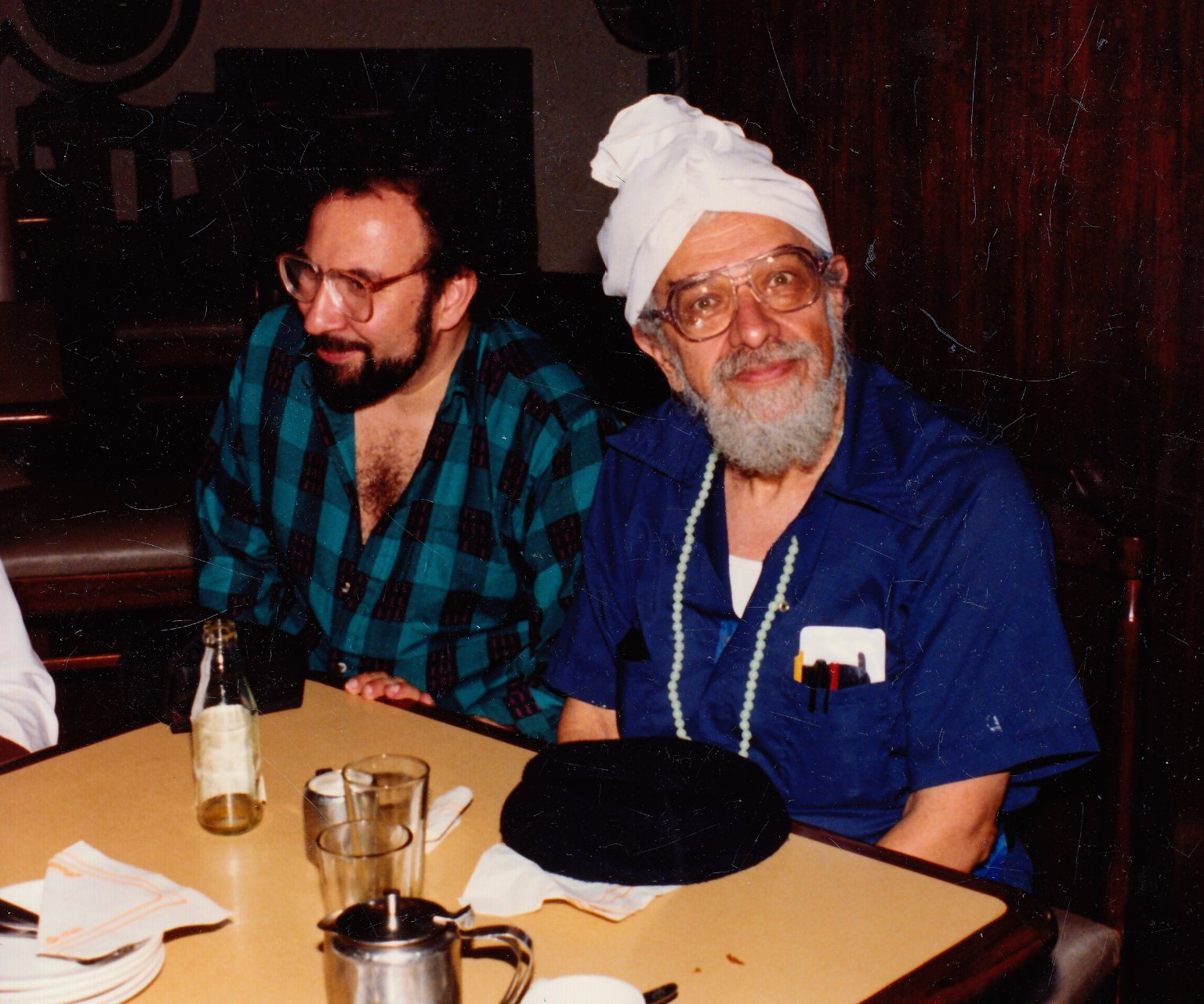 Participants in the 'Jew in the Lotus' Dialogues, October 22, 1990.