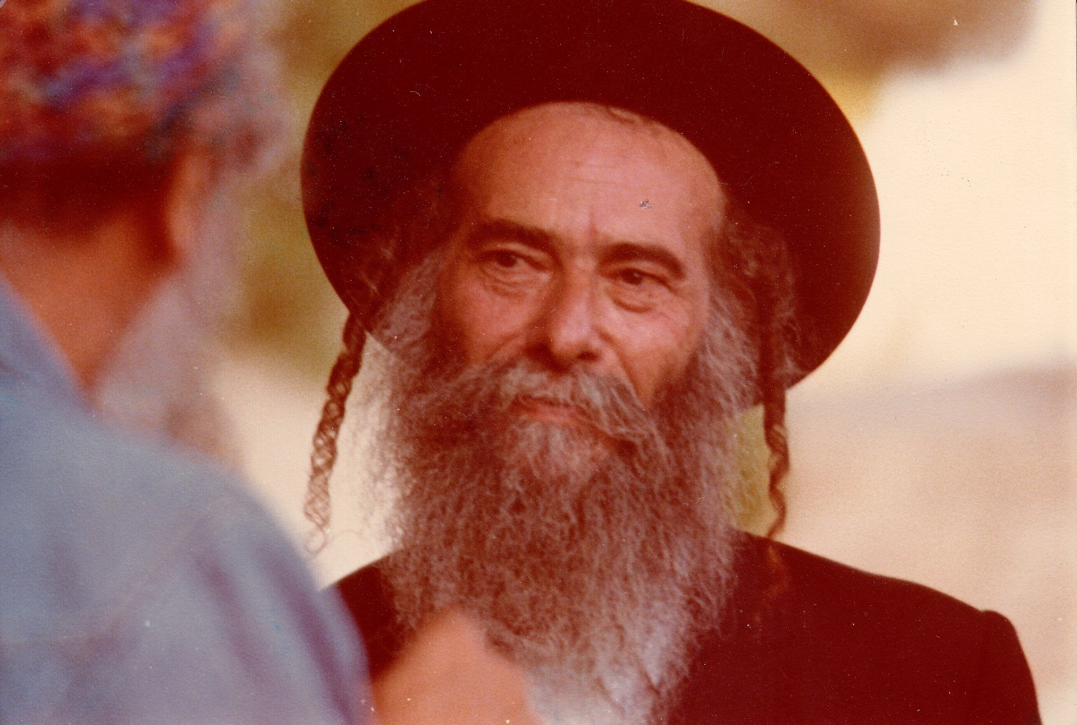 Rabbi Zalman Schachter-Shalomi and Rabbi Gedaliah Kenig, ca. 1982.