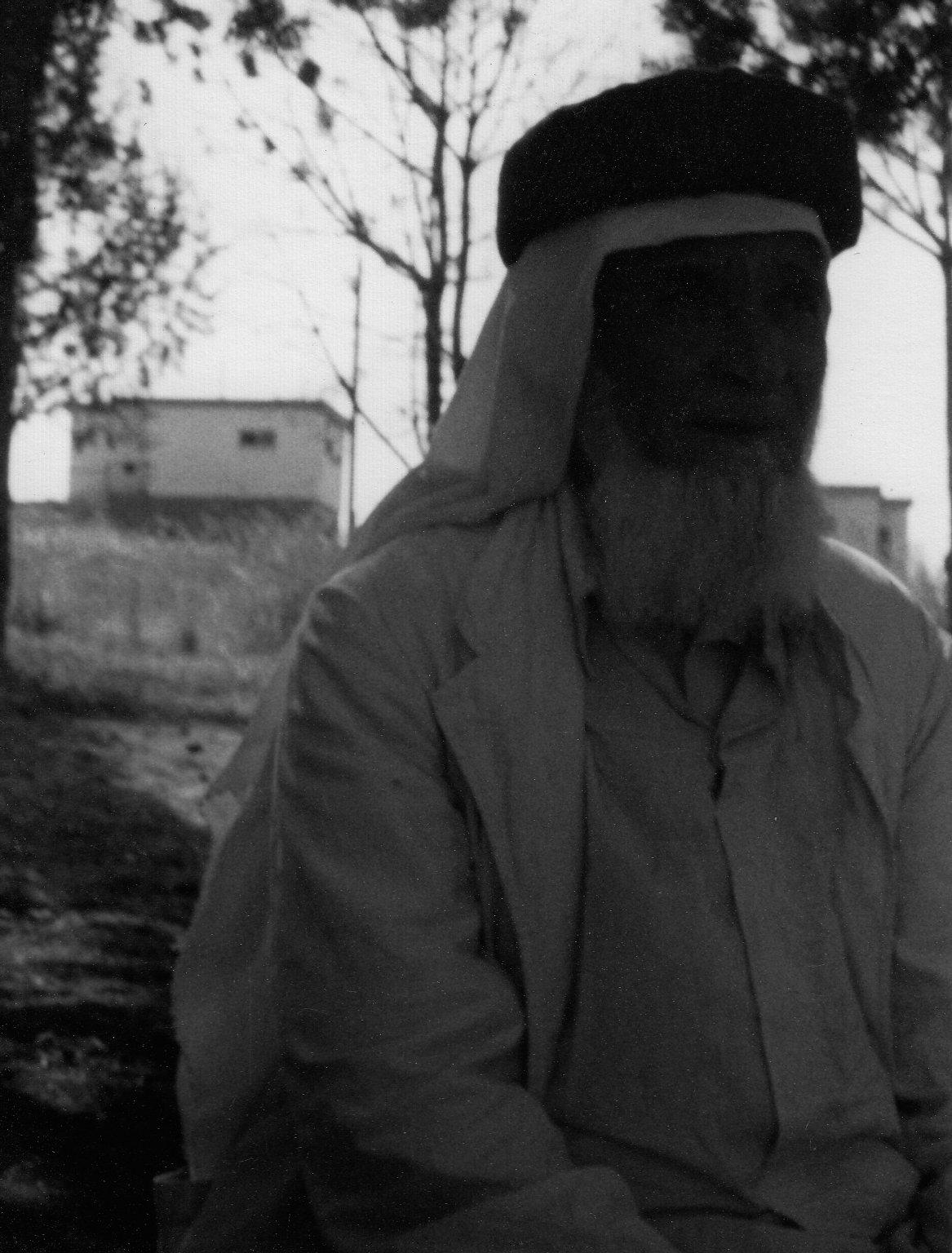 Sheikh Siddi Hassan al-Moumani of Balata of the Qadiri-Rifai Tariqat.