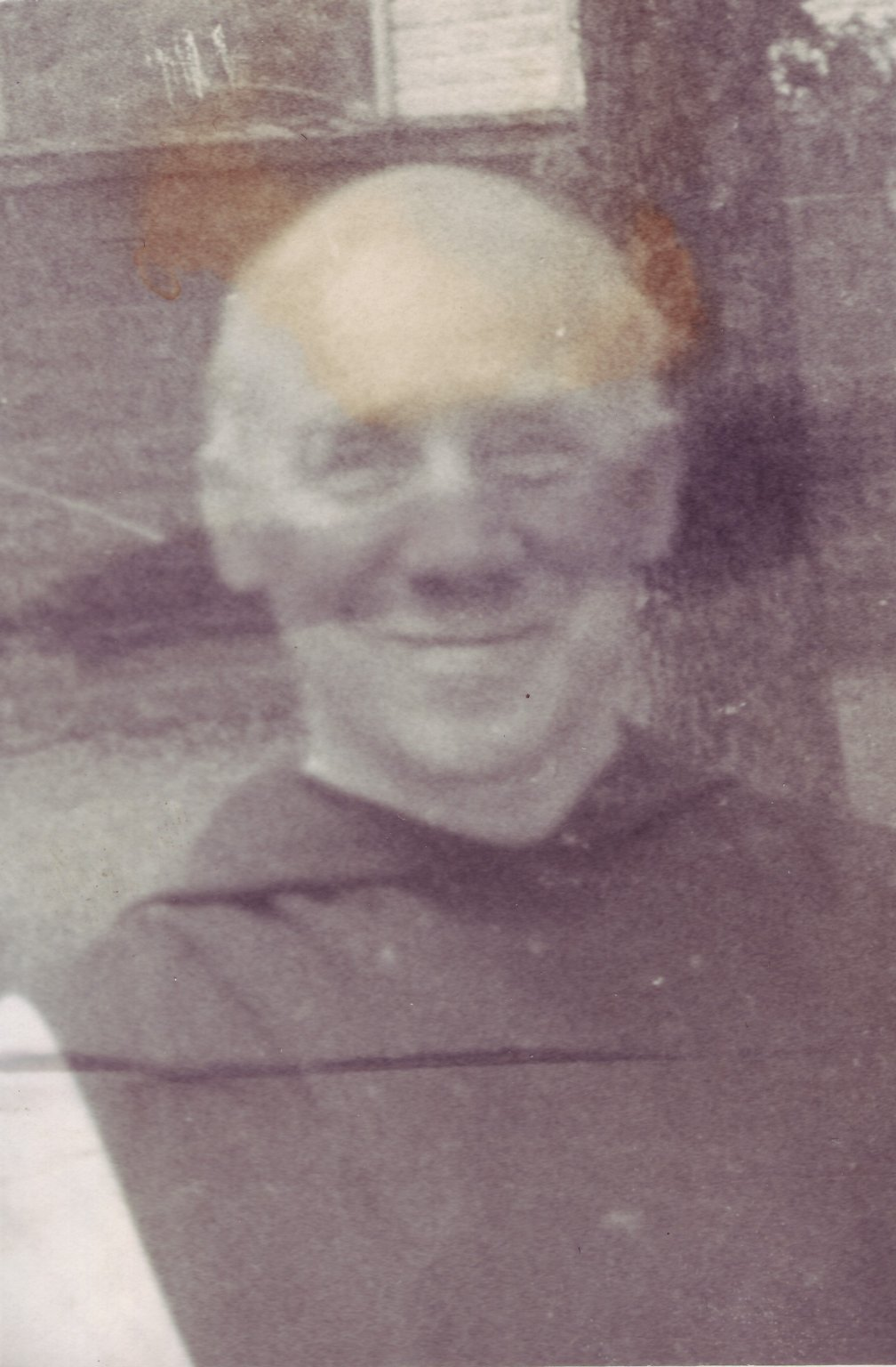 Father Thomas Merton outside of his Shangri-la hermitage at the Abbey of Gethsemani in Kentucky, ca. 1963.