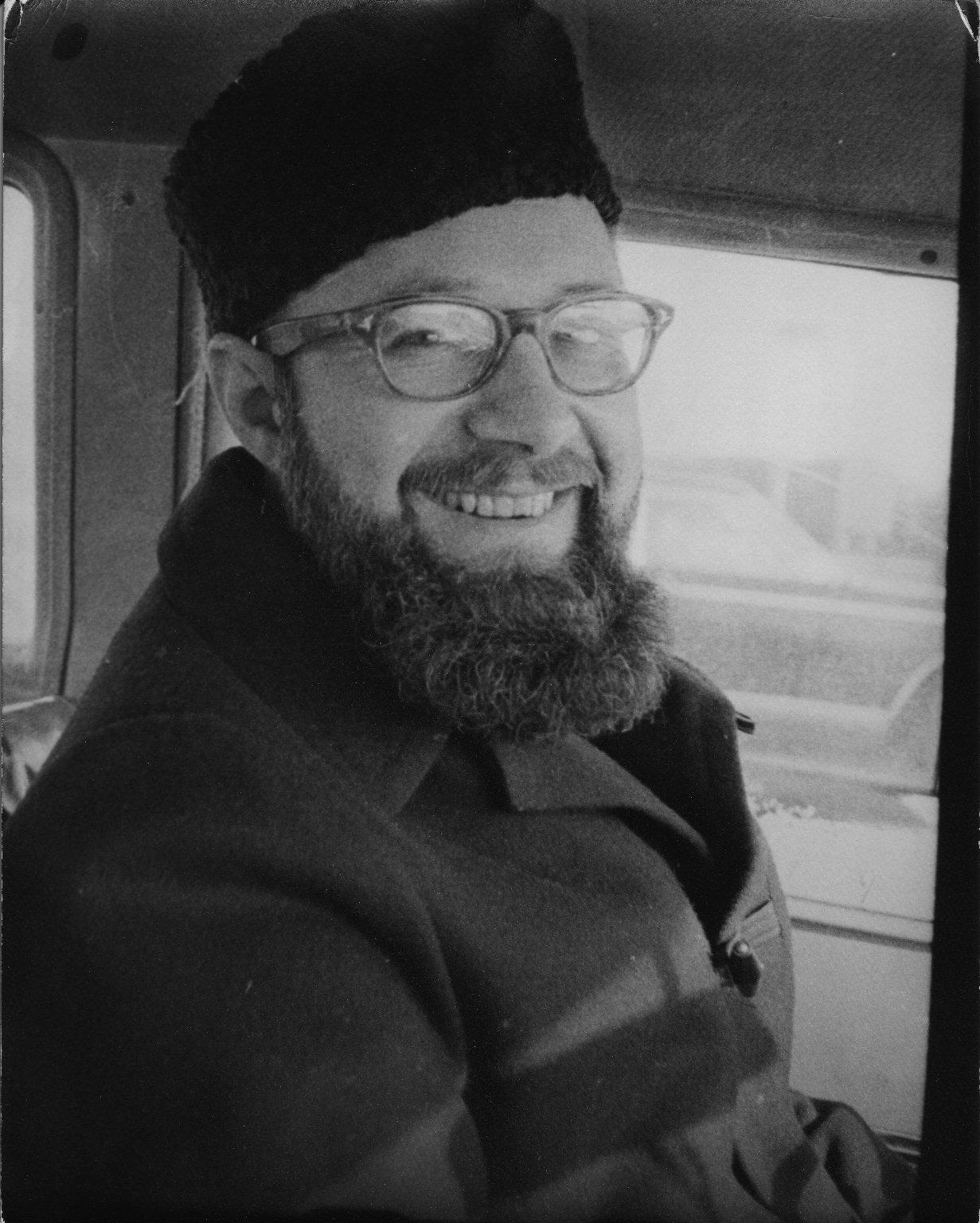 Joseph Zimbrolt, a friend of Rabbi Zalman Schachter, ca. 1965.