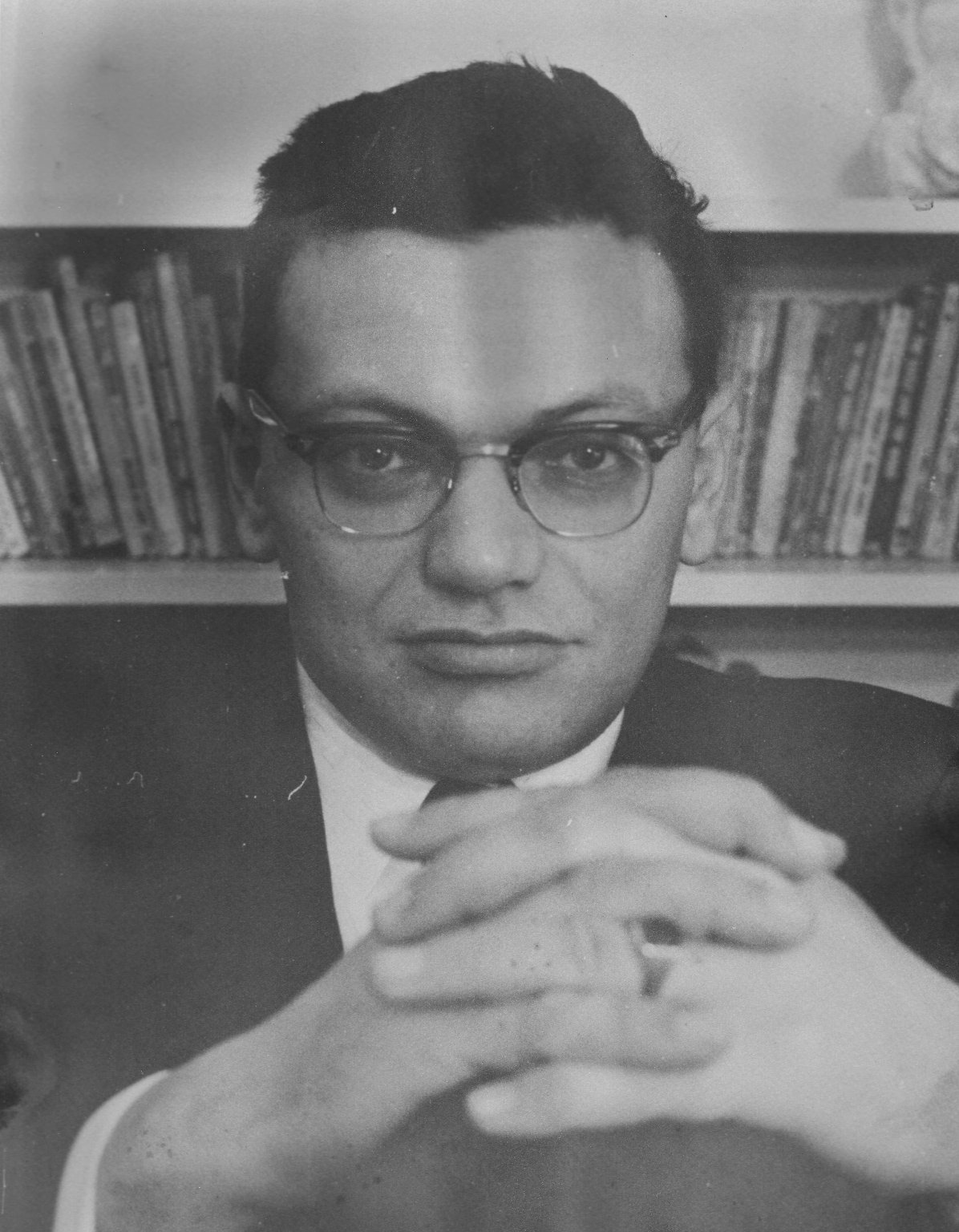 Rabbi Joseph Hayyim Schachter, the younger brother of Rabbi Zalman Schachter, ca. 1960.