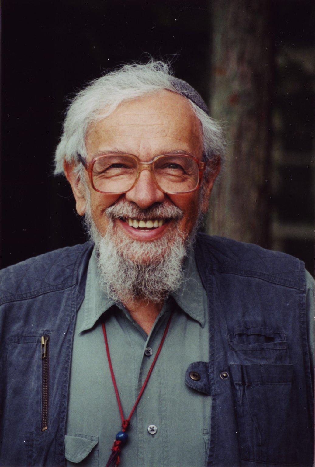Rabbi Zalman Schachter-Shalomi at Elat Chayyim.
