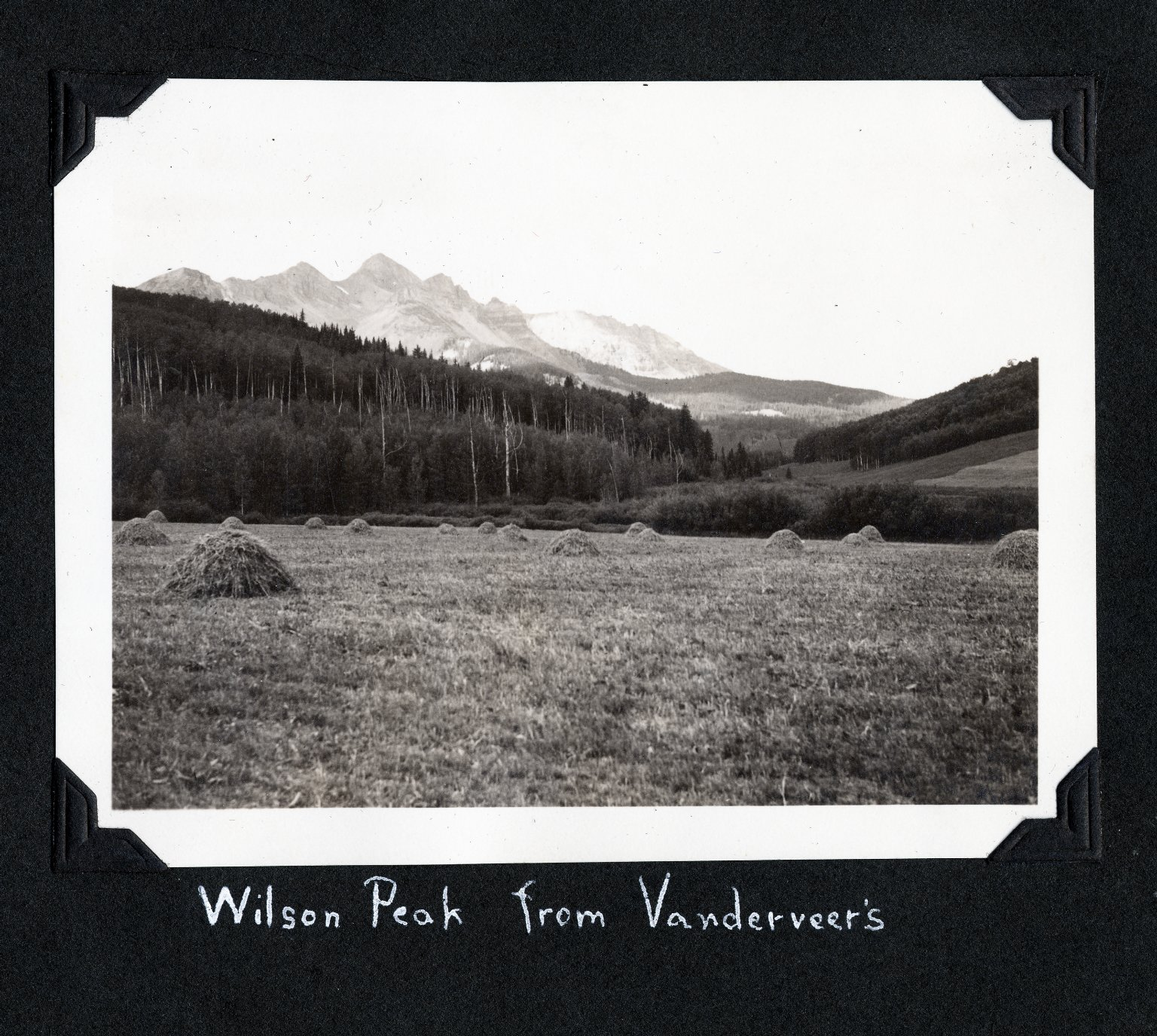 Wilson Peak from Venderveer's