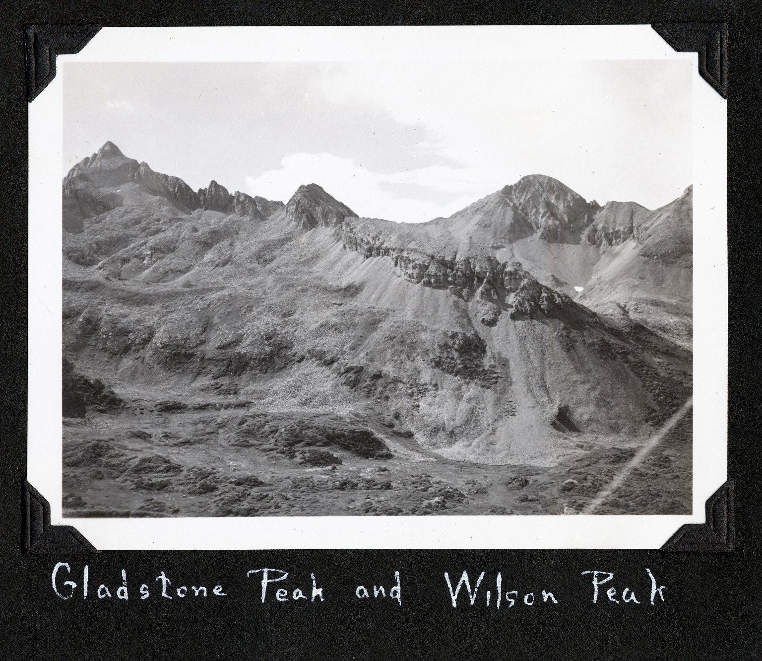 Gladstone Peak and Wilson Peak