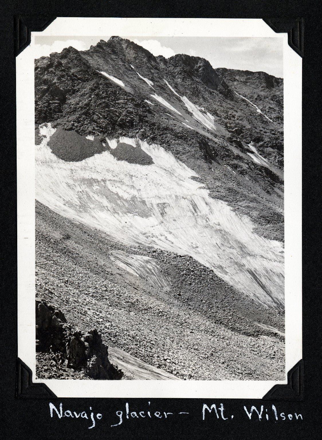 Navajo Glacier - Mt. Wilson