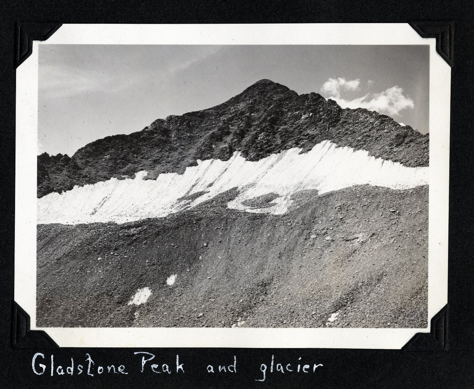 Gladstone Peak and Glacier