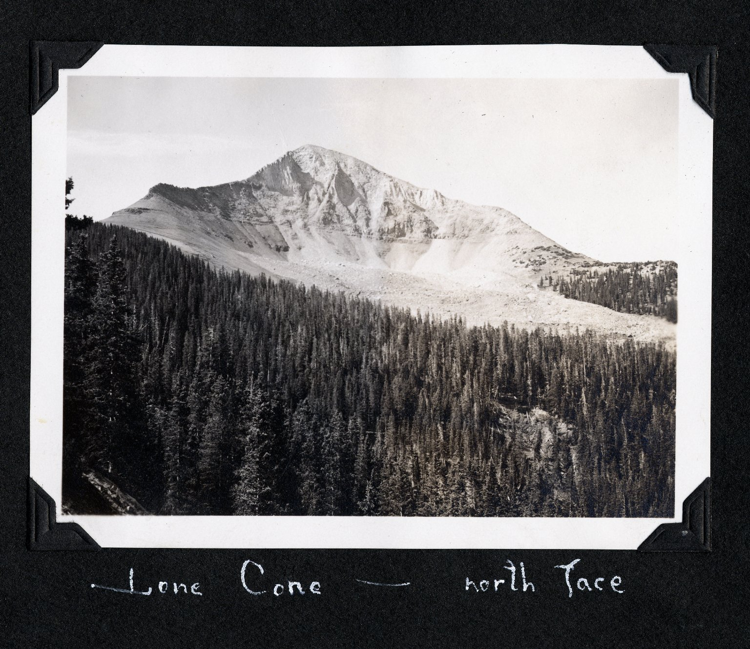Lone Cone - North Face