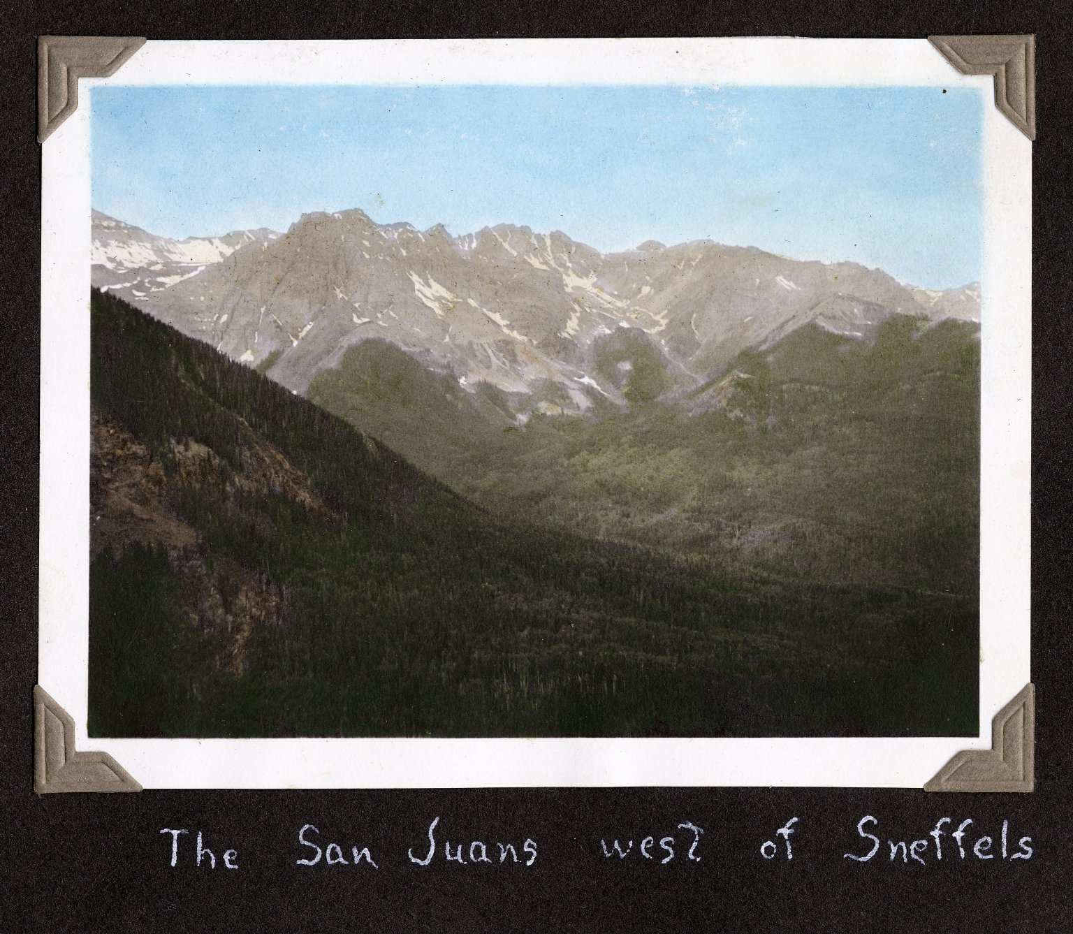 The San Jauns West of Sneffels