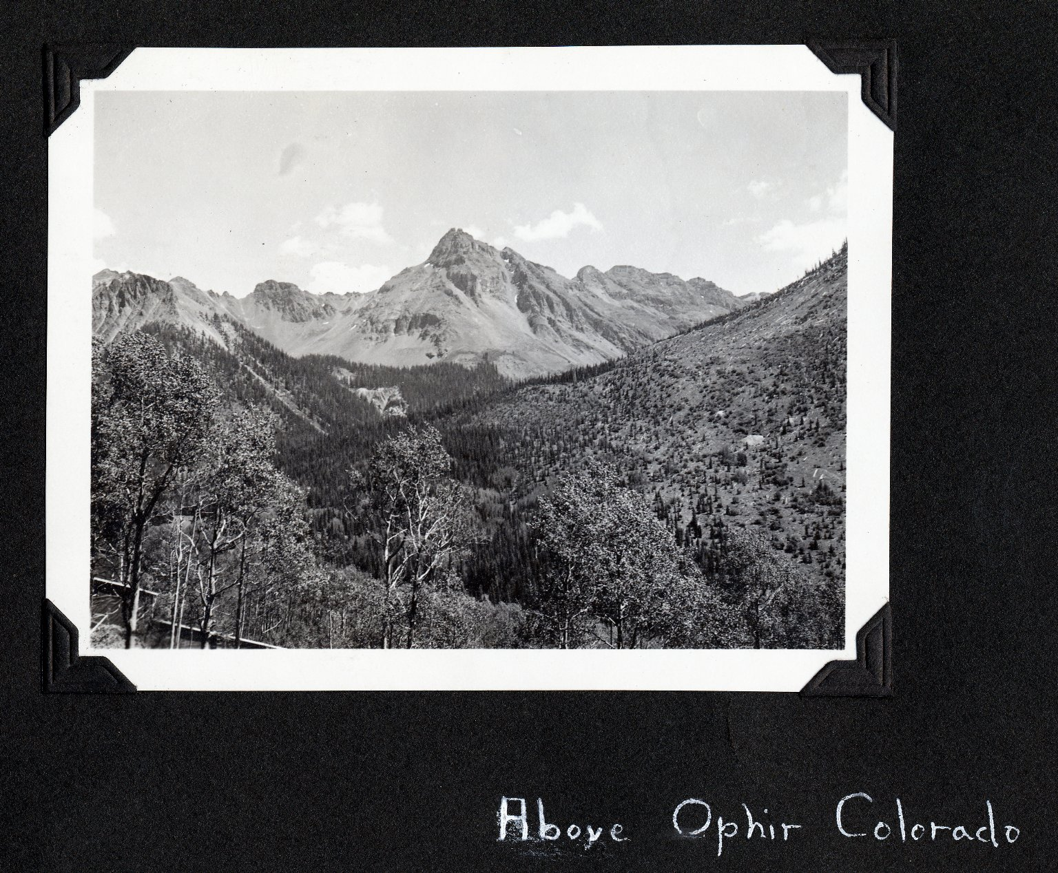 Above Ophir Colorado