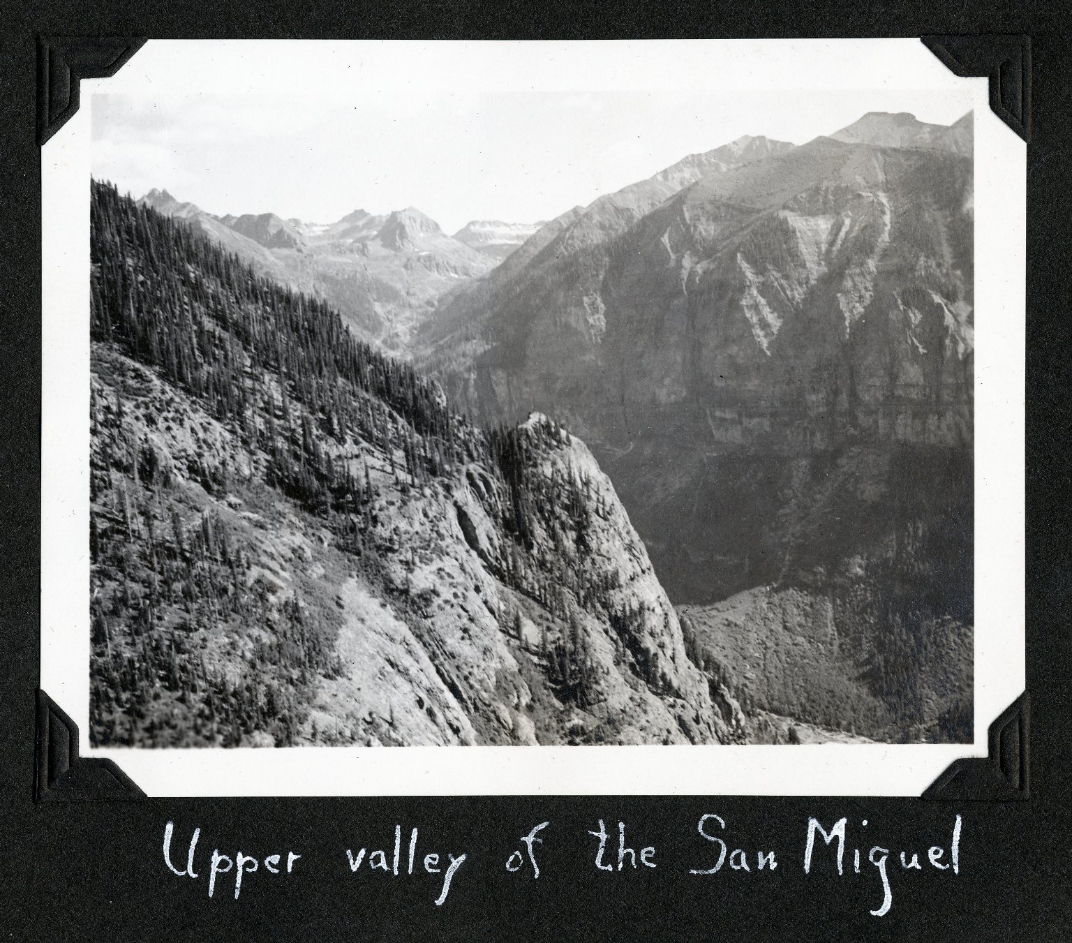 Upper Valley of the San Miguel