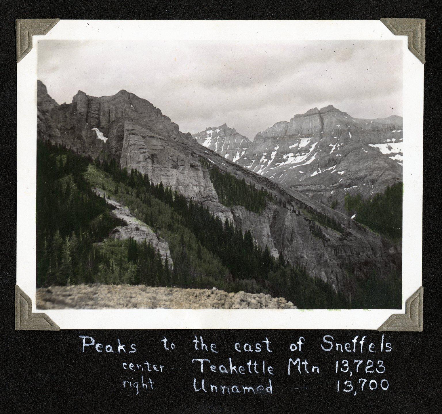 Peaks to the East of Sneffels
