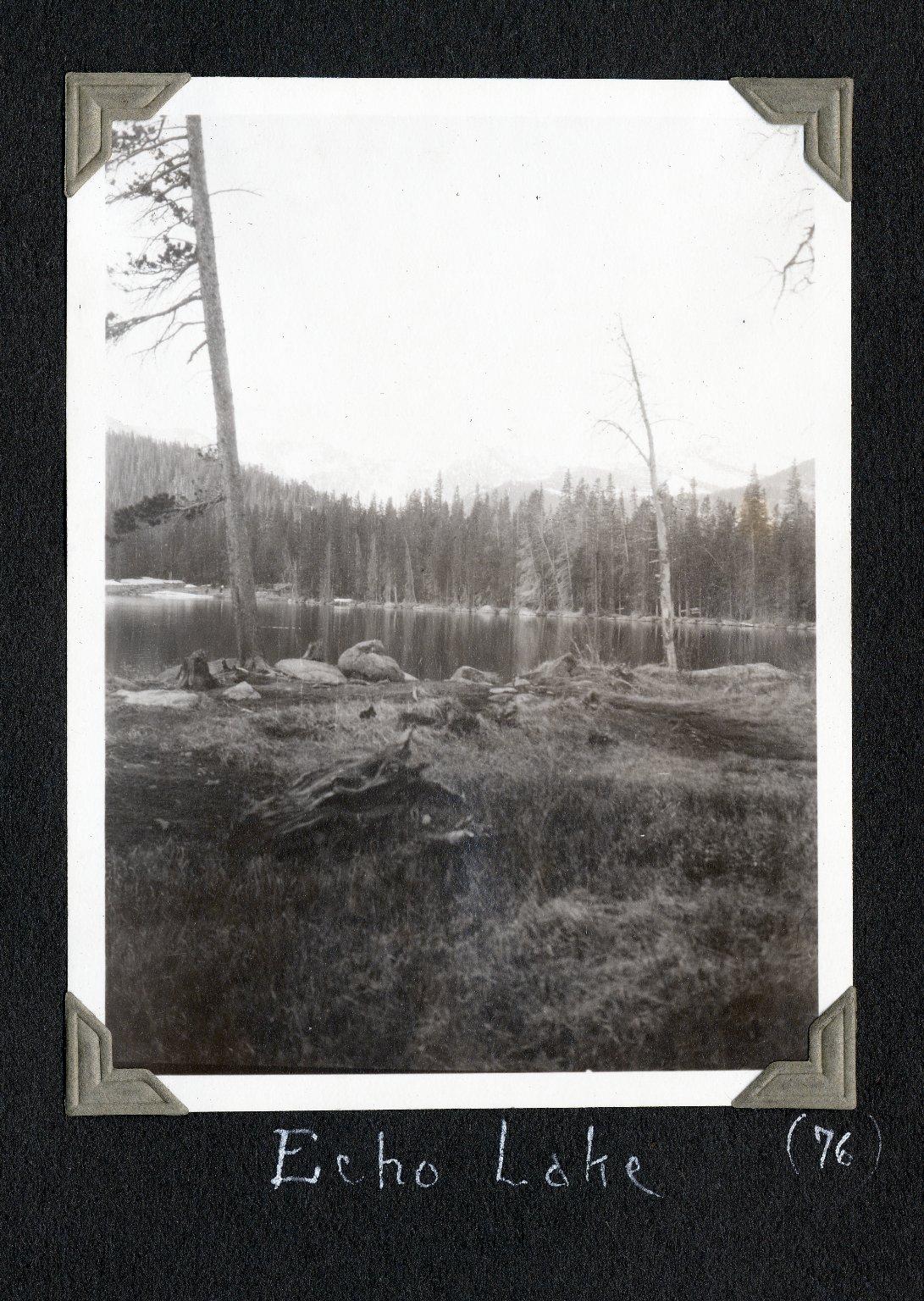 At Echo Lake