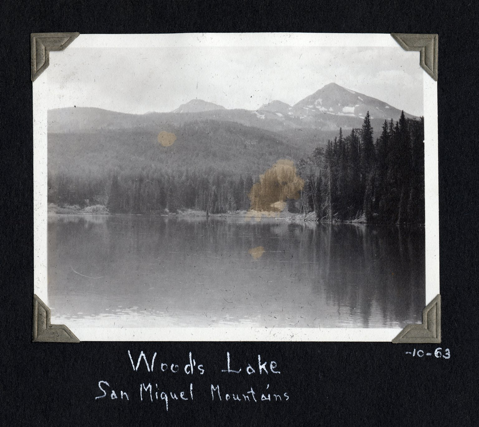 Woods Lake, San Miguel Mountains