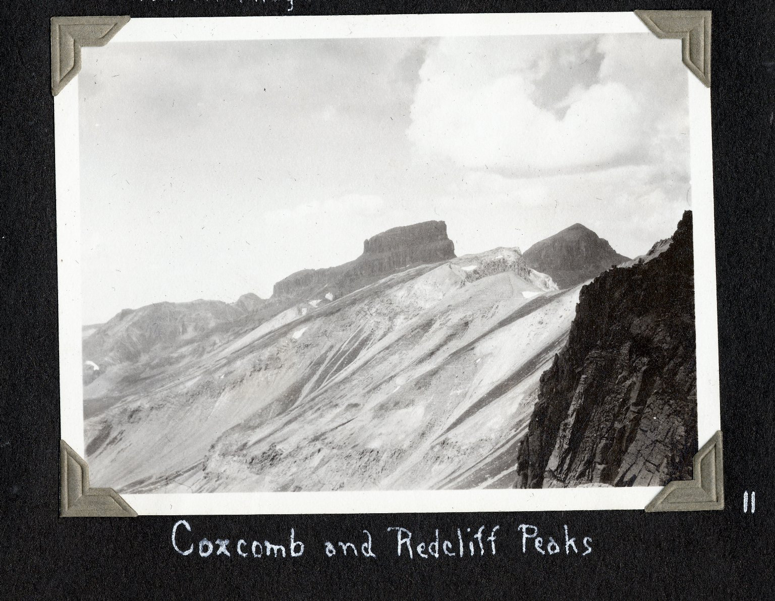 Redcliff and Coxcomb Peak