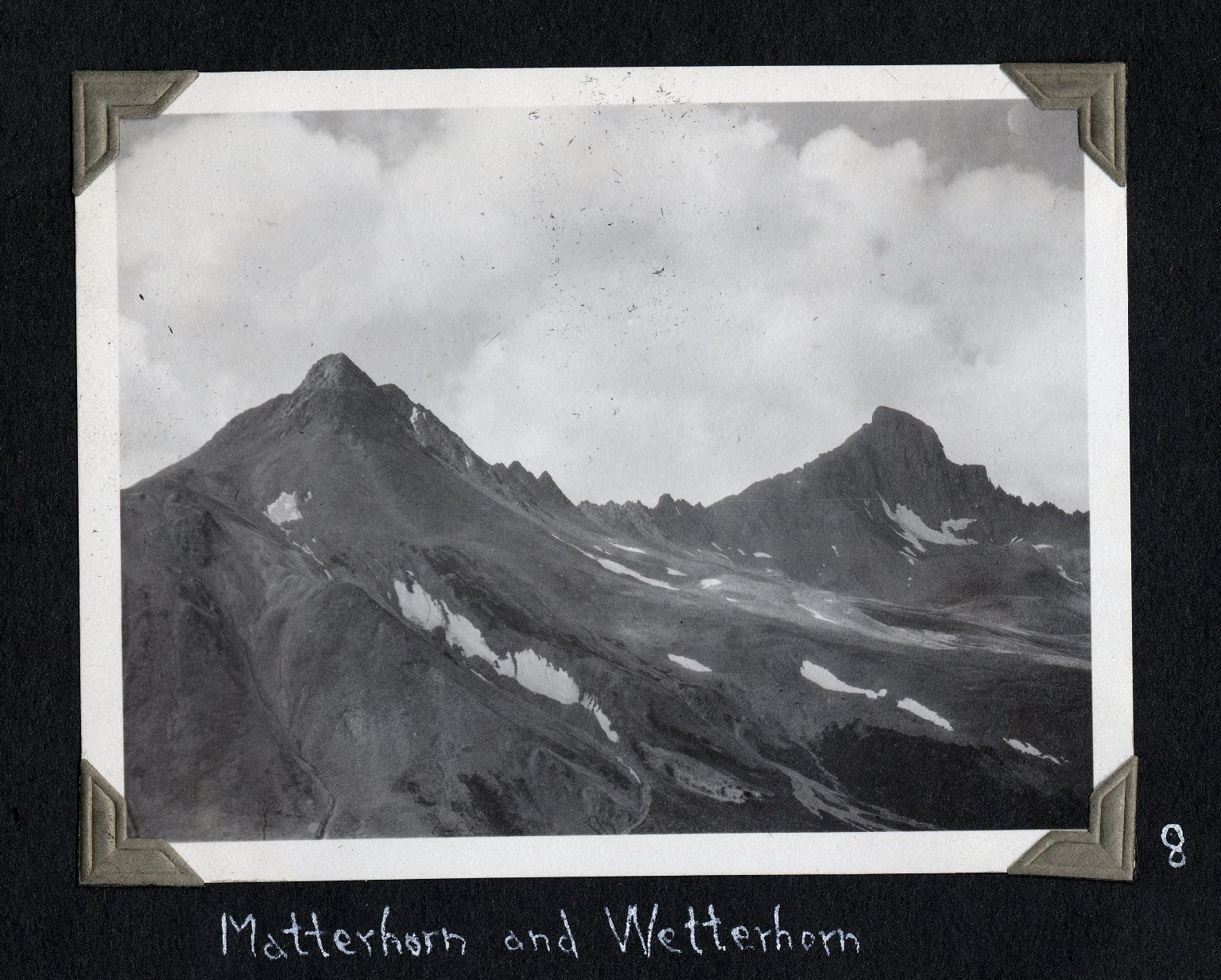 Matterhorn Peak and Wetterhorn Peak