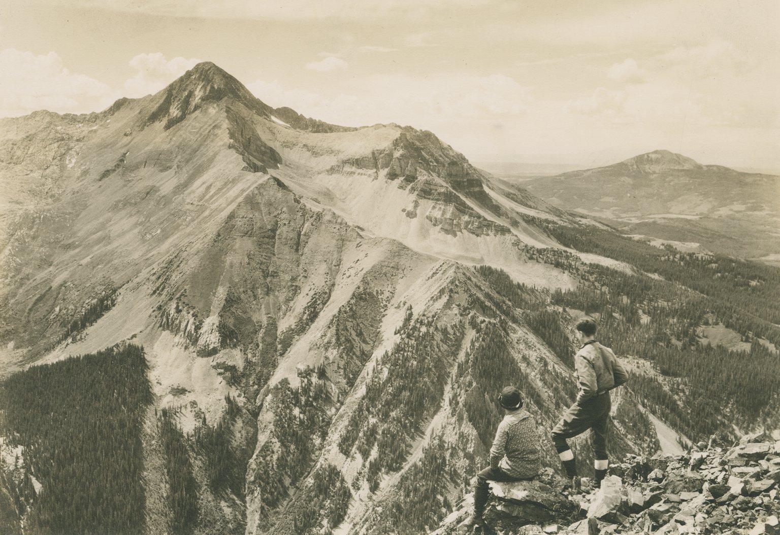 Wilson Peak from summit of Sunshine Peak.