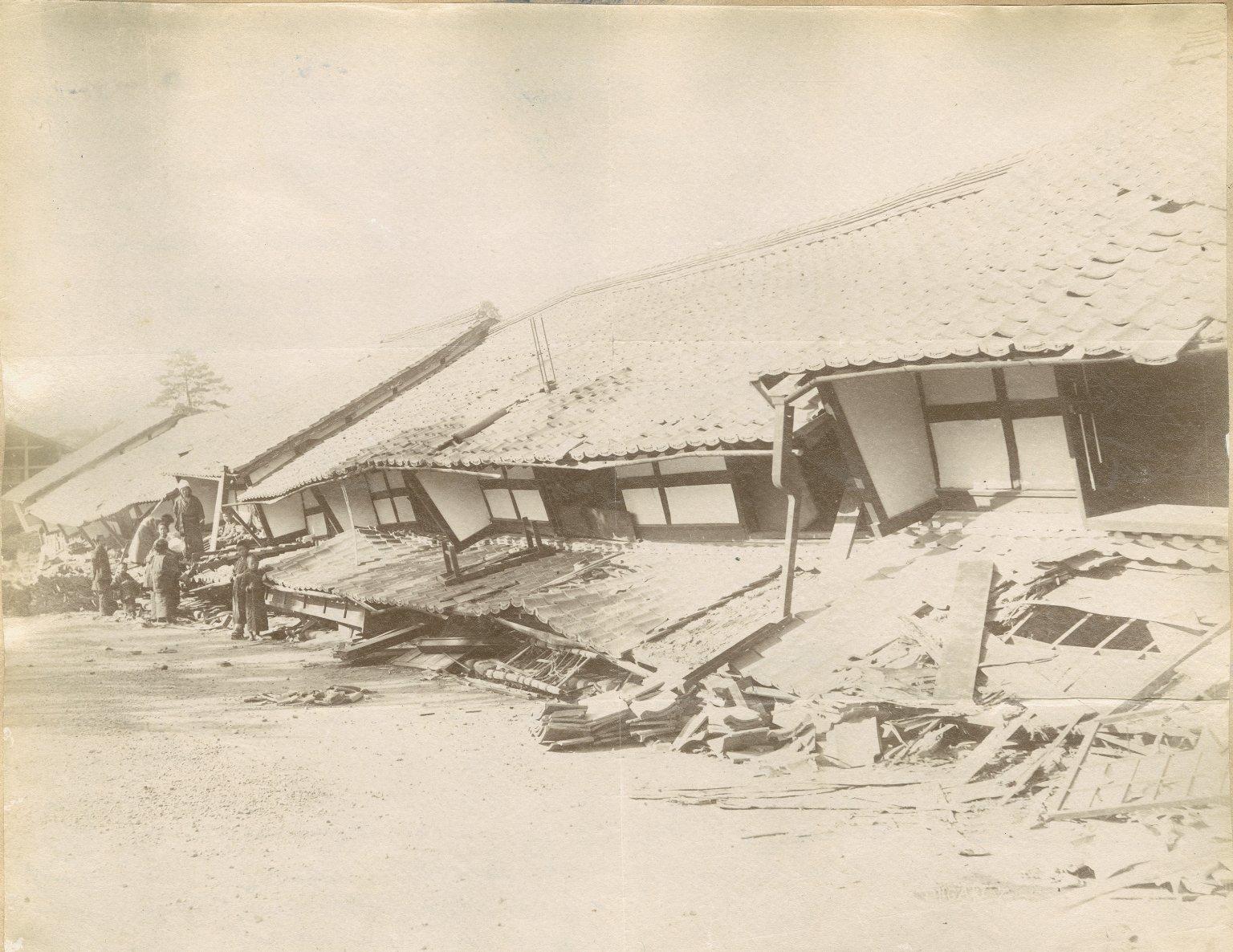 Earthquake at Ogaki