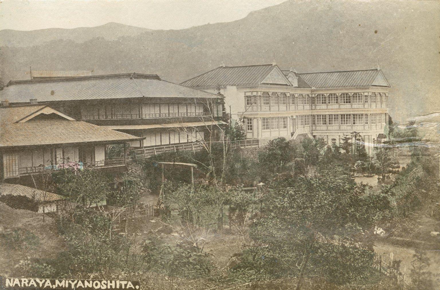 Miyanoshite onsen, Hakone