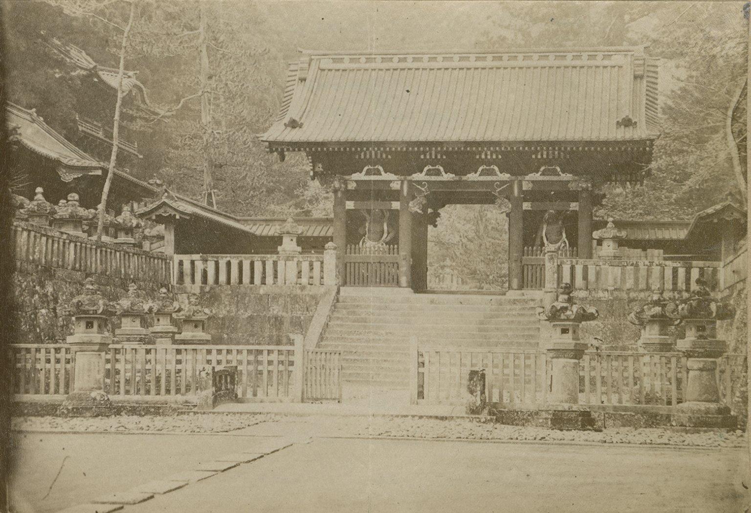 Temple of Iyemitsu at Nikko