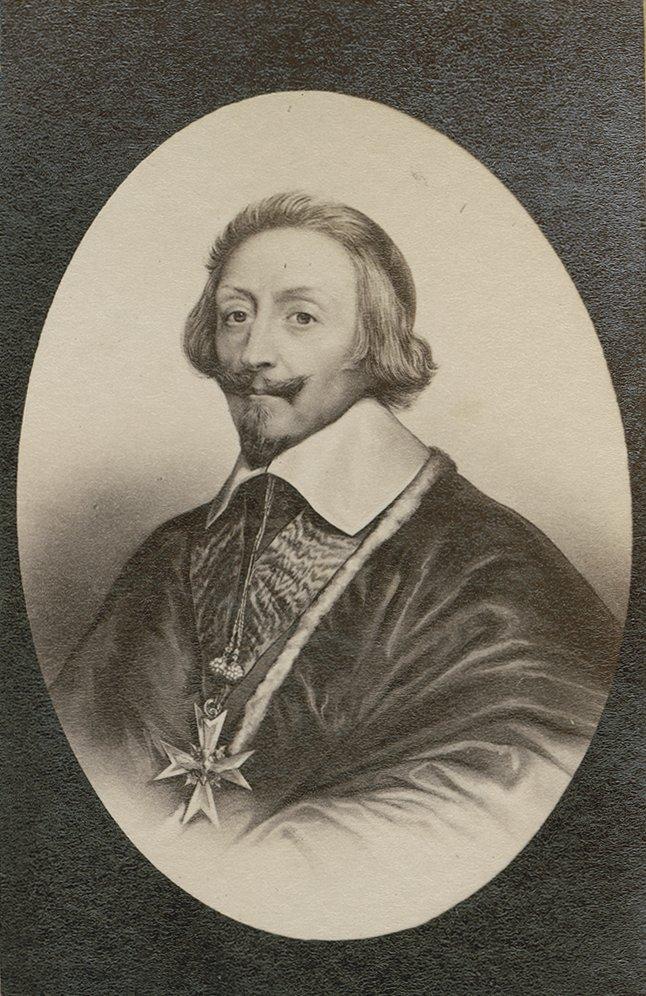 Portrait of Richelieu