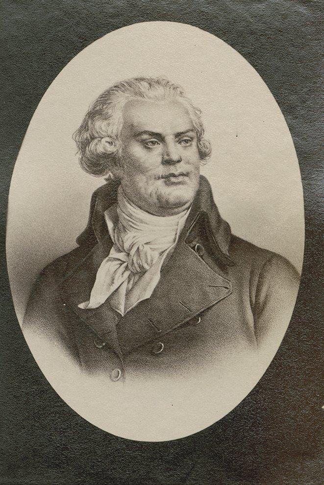 Portrait Georges Jacques Danton