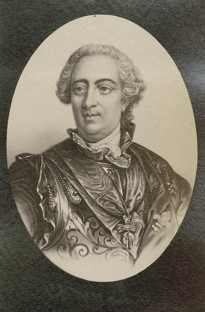 Portrait of King Louis XV of France