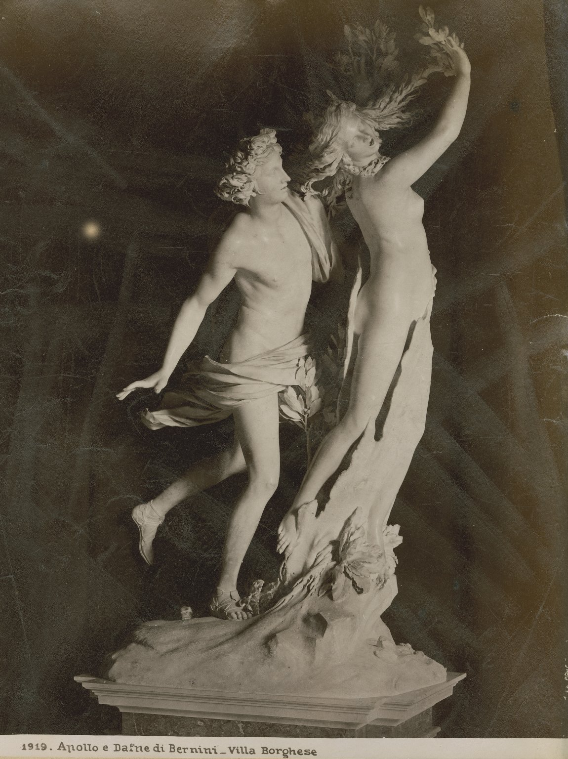 Apollo and Daphne, by Bernini