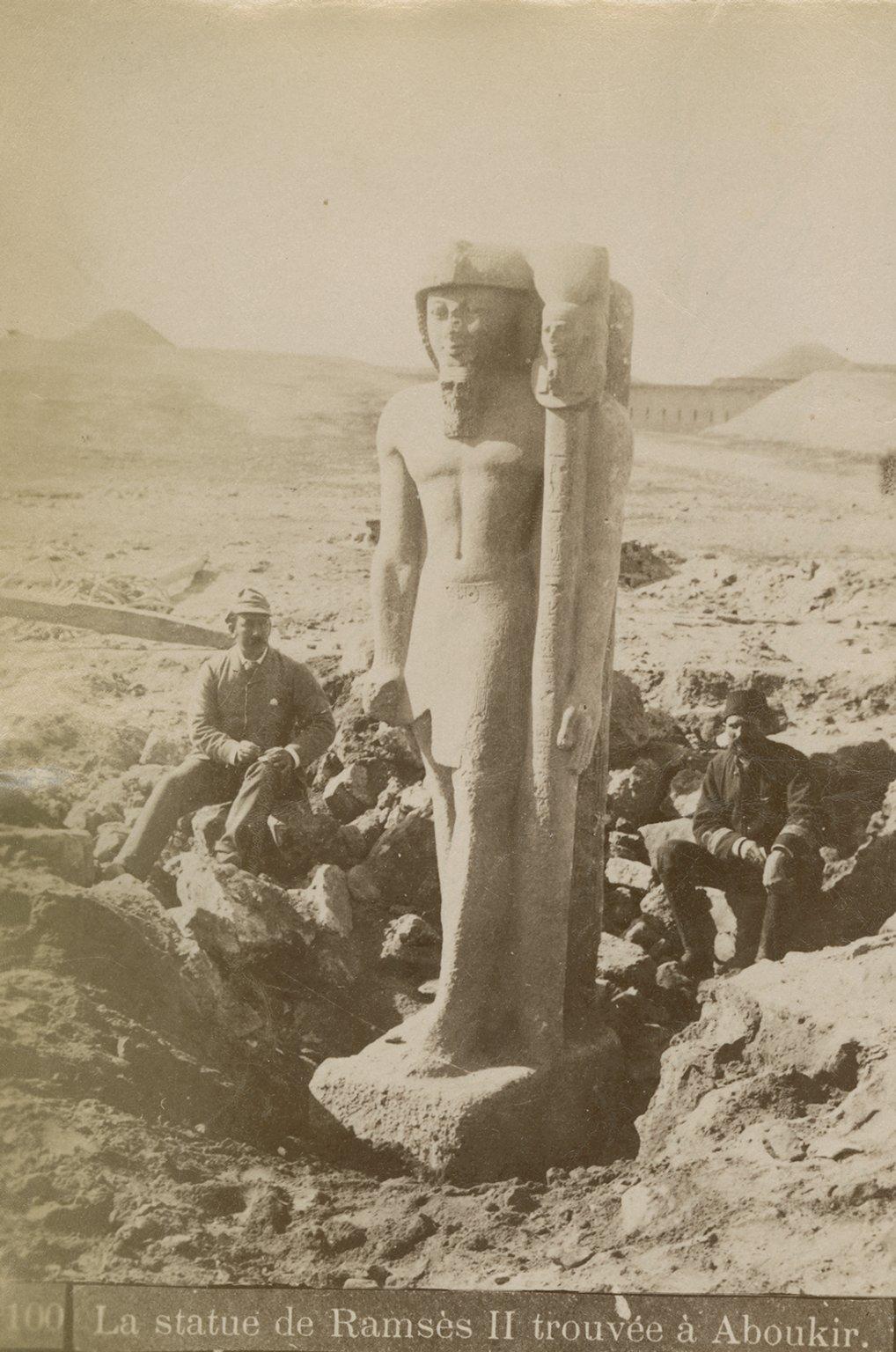Statue of Rameses II, Abu Qir