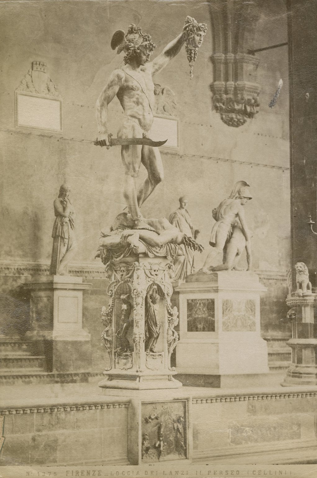 Perseus with the head of Medusa, by Cellini