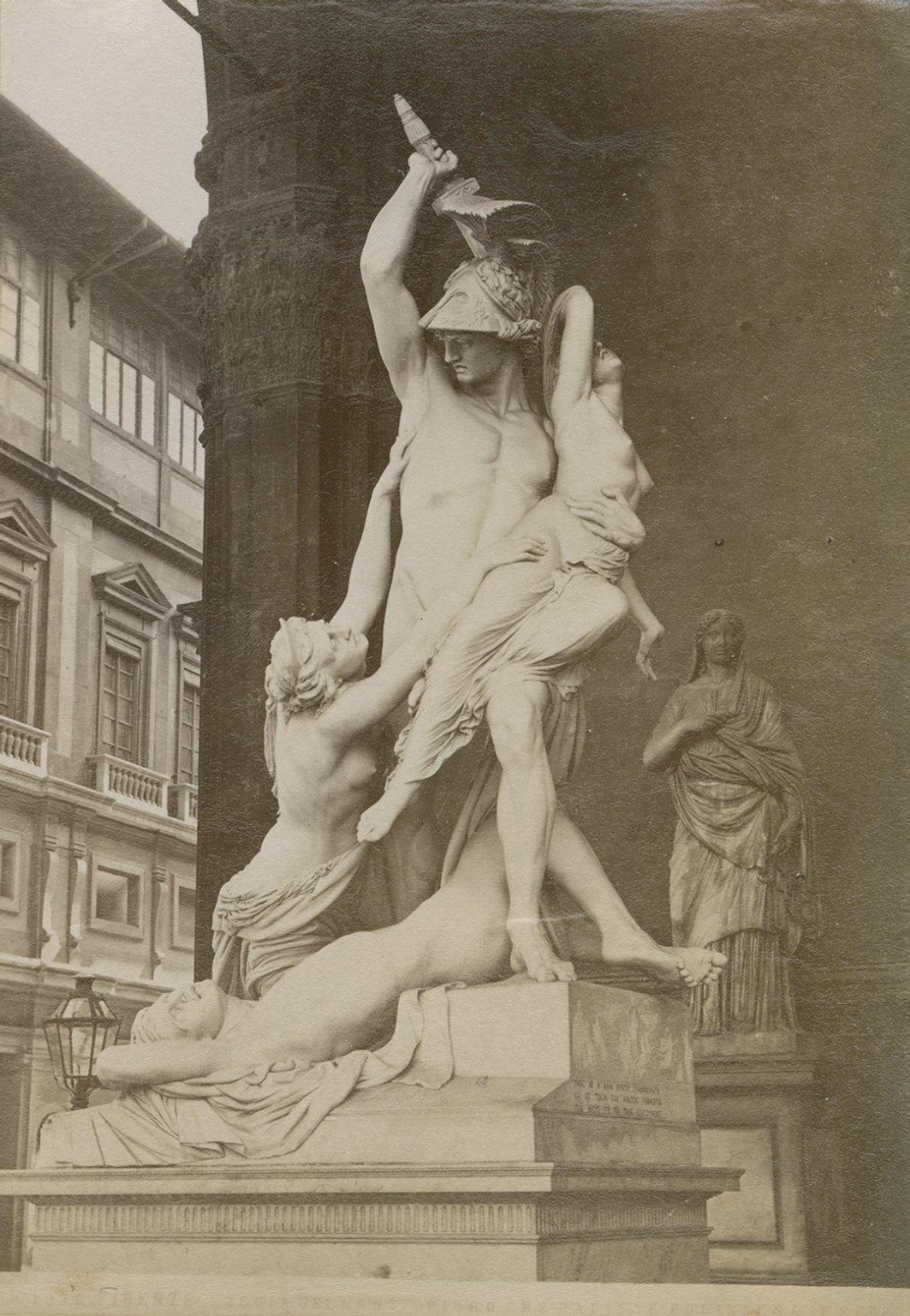 The Rape of Polyxena, by Pio Fedi