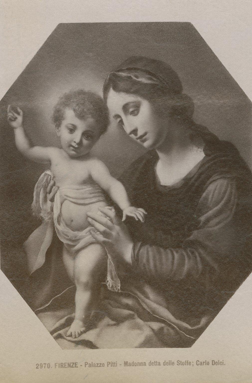 Madonna detta delle Stoffe, by Dolci