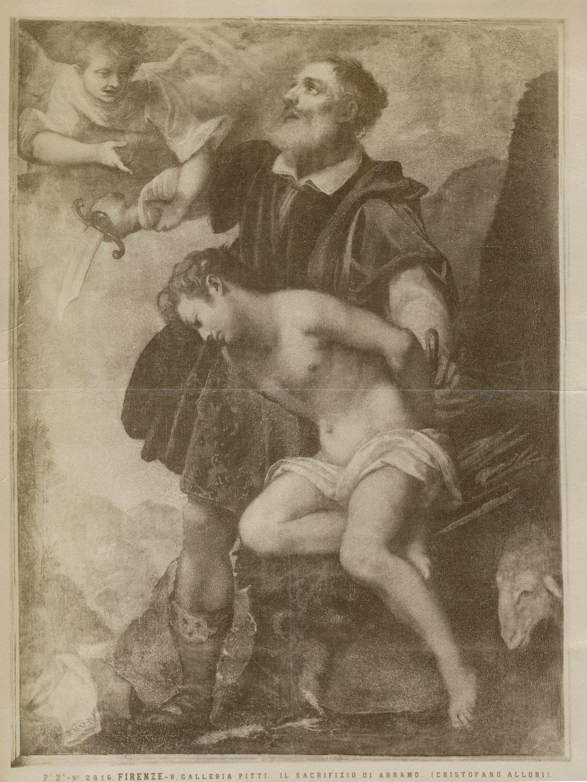 Sacrificio d'Abramo, by Allori