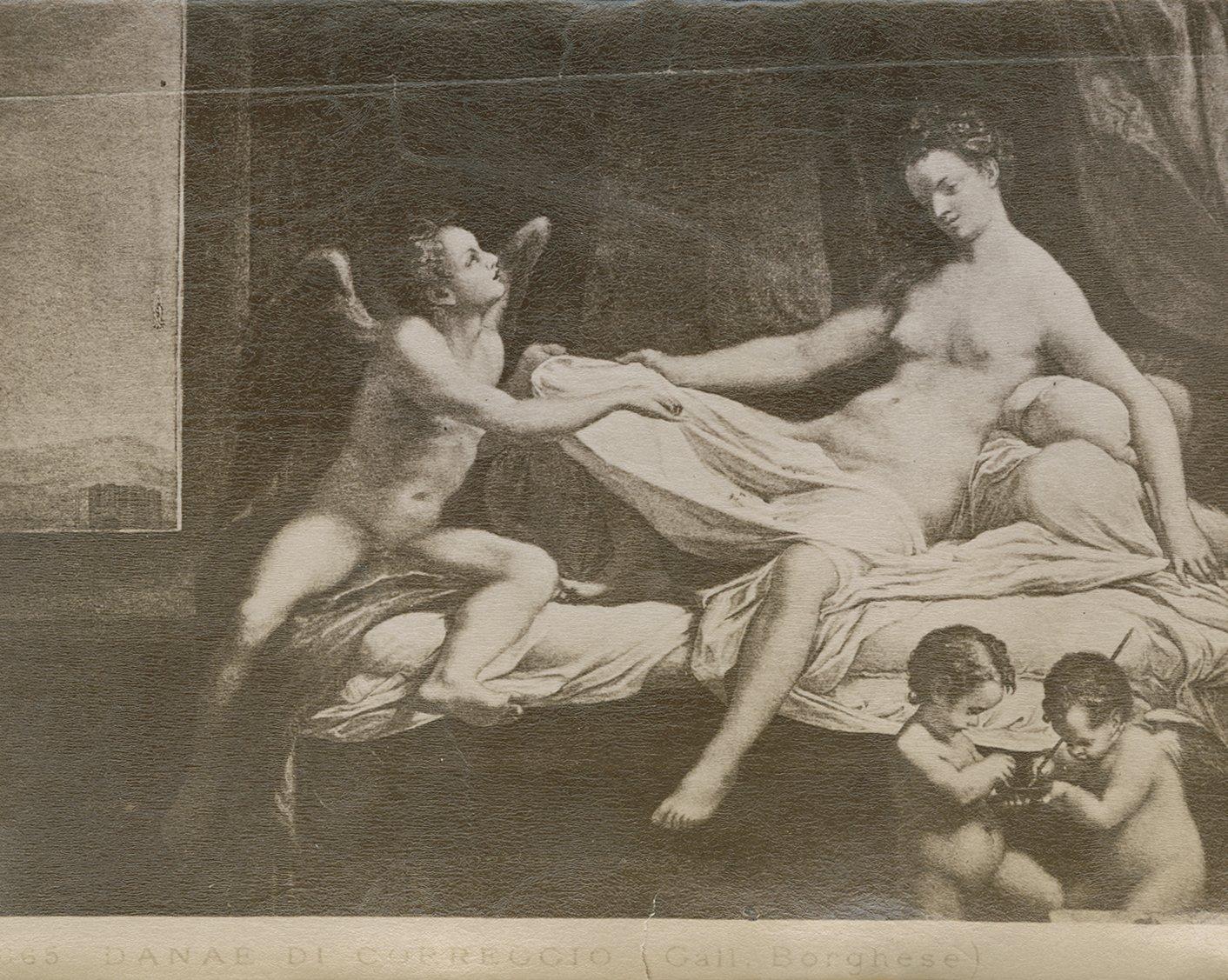 Danaë, by Correggio