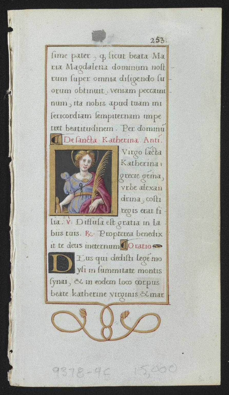 Book of Hours leaf [illuminated]